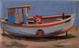 Nautical Rocker boat