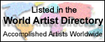 Listed in the World Artist Directory