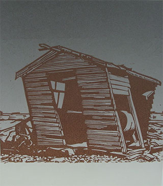 Shed at Dungeness beach