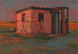 small painting Dungeness in oil