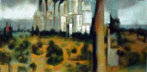 Peripheral landscape Dungeness affordable oil paintings